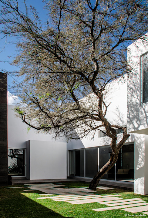 Maisons modernes par BAG arquitectura Moderne Verre