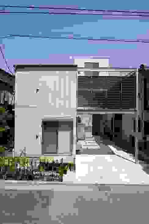 Houses by 仲摩邦彦建築設計事務所 / Nakama Kunihiko Architects, Modern Concrete