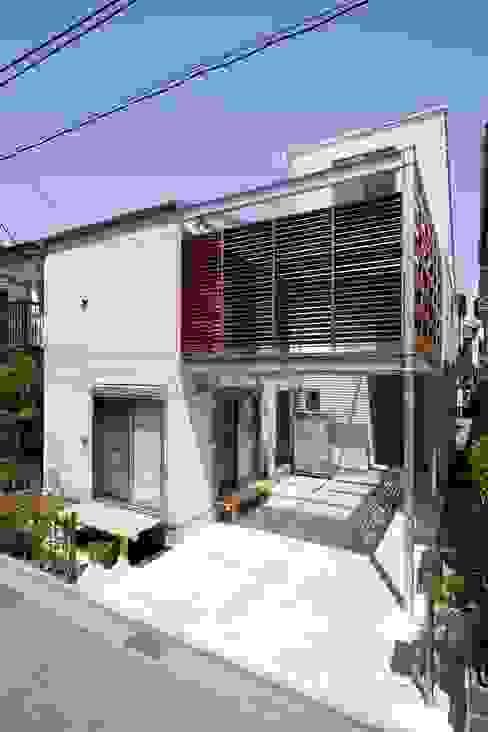 MS-House: 仲摩邦彦建築設計事務所 / Nakama Kunihiko Architectsが手掛けた家です。,モダン 木 木目調