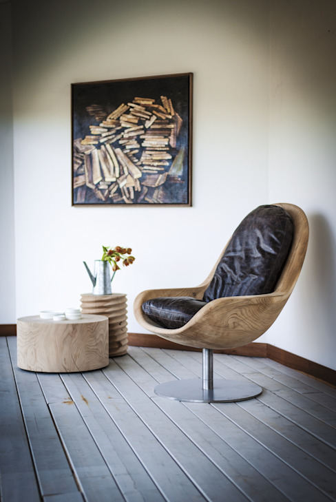Riva1920 Modern living room Solid Wood