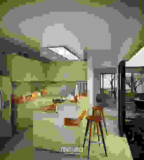 Modern kitchen by mousa / Inspiración Arquitectónica Modern