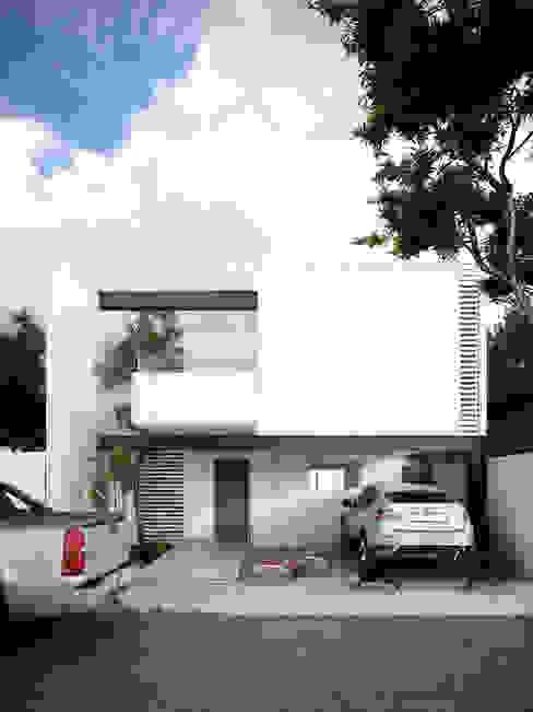 Дома в стиле минимализм от mousa / Inspiración Arquitectónica Минимализм