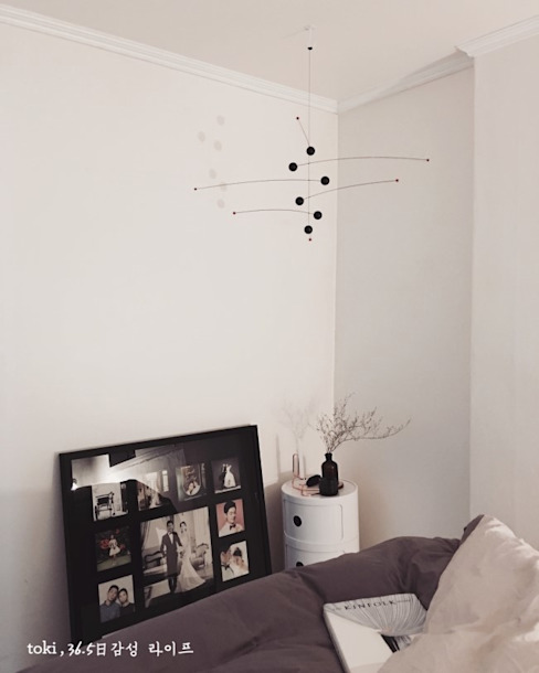 Scandinavian style bedroom by toki Scandinavian