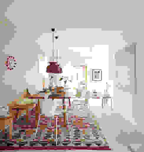Esstisch mit Kelim Moderne Esszimmer von Burkhard Heß Interiordesign Modern