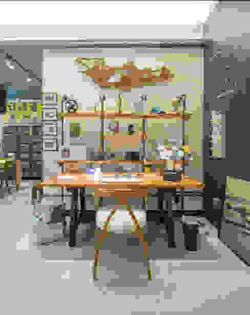 Casa Cor Rio 2014 - Estúdio do Designer Escritórios industriais por EMMILIA CARDOSO DESIGNERS ASSOCIADOS Industrial
