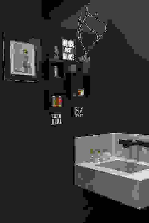 COBERTURA JOAQUIM ANTUNES Banheiros modernos por Eliane Mesquita Arquitetura Moderno Quartzo