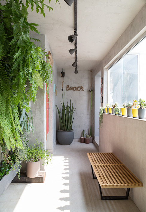 COBERTURA JOAQUIM ANTUNES Jardins de inverno modernos por Eliane Mesquita Arquitetura Moderno Concreto