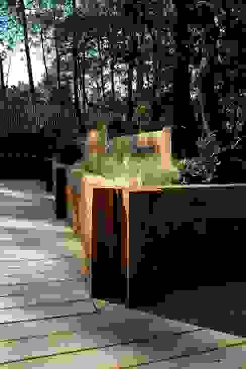 Inspirations Balcon, Veranda & Terrasse modernes par Anthemis Bureau d'Etude Paysage Moderne