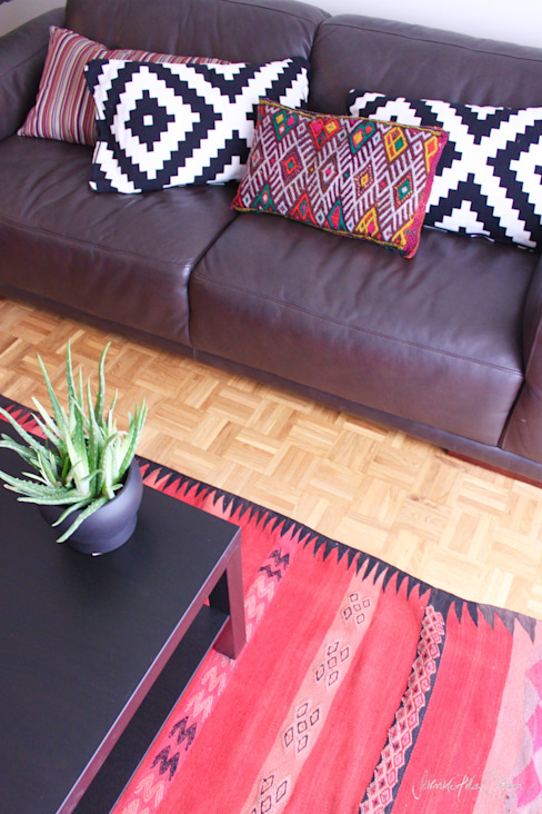 cool and cosy crib - geneva Salon original par Severine Piller Design LLC Éclectique