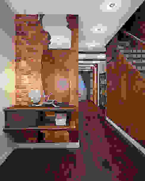 GM-interior Pasillos, vestíbulos y escaleras de estilo rural