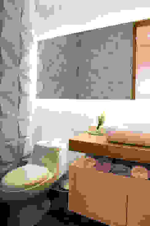 Baño Social: Baños de estilo  por Cristina Cortés Diseño y Decoración