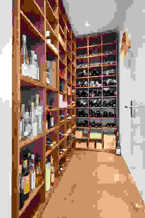 Modern Home Wine Cellar by Herzog-Architektur Modern