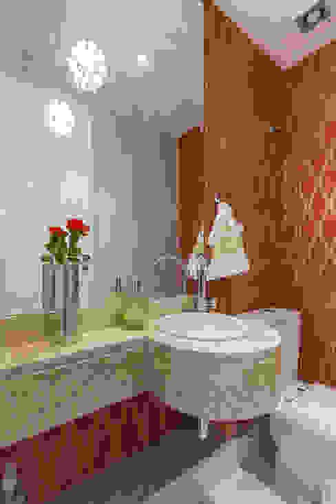 Lavabo Banheiros modernos por Sandra Pompermayer Arquitetura e Interiores Moderno