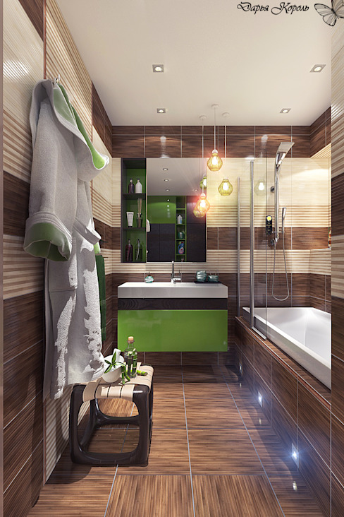 Salle de bain tropicale par Your royal design Tropical