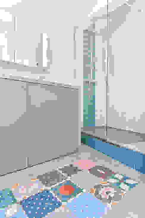 Little Loft Boulogne 43m² La Decorruptible Salle de bain industrielle