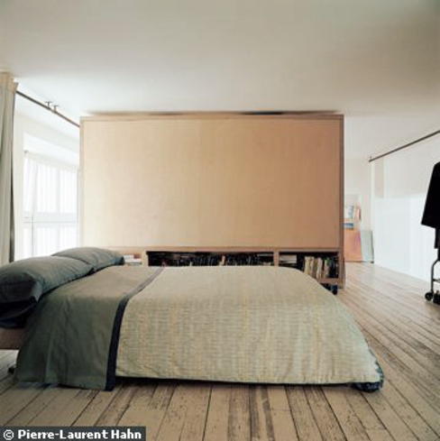 111 architecture Minimalist bedroom
