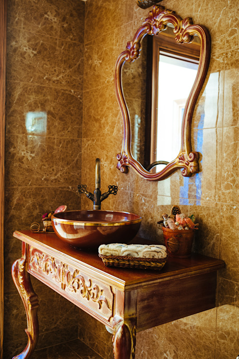 Modern Bathroom by Bilgece Tasarım Modern