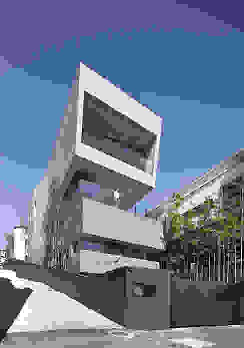 Projekty,  Domy zaprojektowane przez homify, Nowoczesny Beton