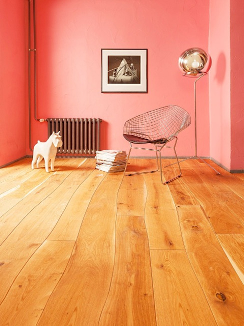 Стены в . Автор – Rochene Floors, Рустикальный Дерево Эффект древесины