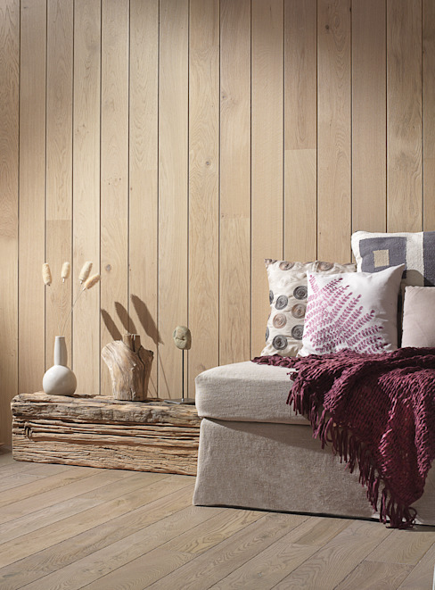 Rustic style walls & floors by Rochene Floors Rustic Wood Wood effect