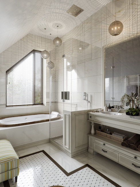 Classic style bathroom by LUXER DESIGN Classic