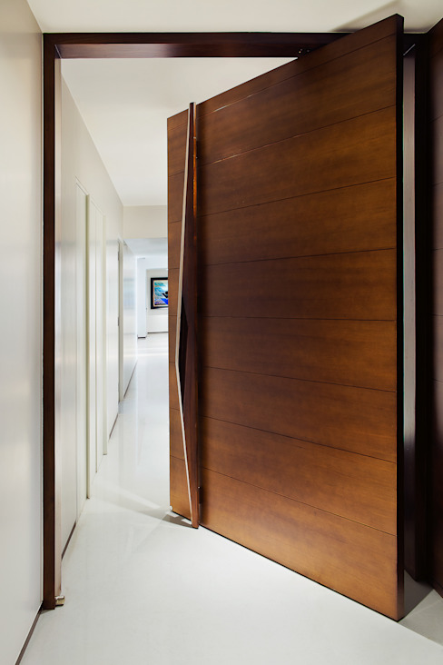 Residential - Juhu 2 Nitido Interior design Modern windows & doors Solid Wood Brown