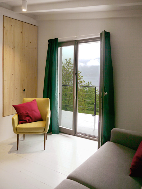 slaapkamer vakantiewoning Studio Groen+Schild Mediterrane slaapkamers