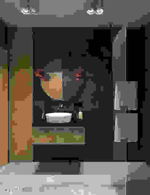 Salle de bain moderne par MArker Moderne Béton