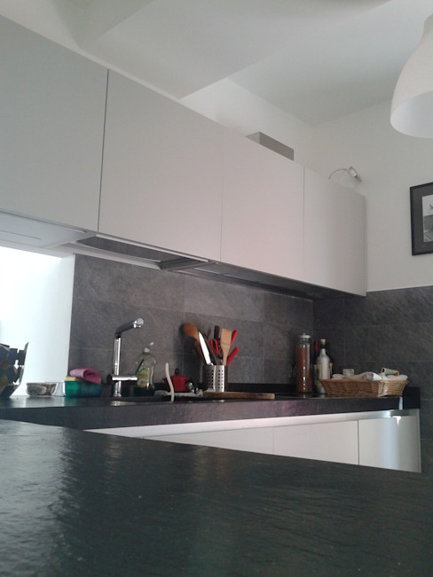 Кухни в . Автор – Marcello Buffa Architetto, Модерн