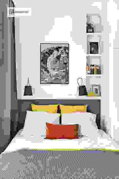 Scandinavian style bedroom by dziurdziaprojekt Scandinavian
