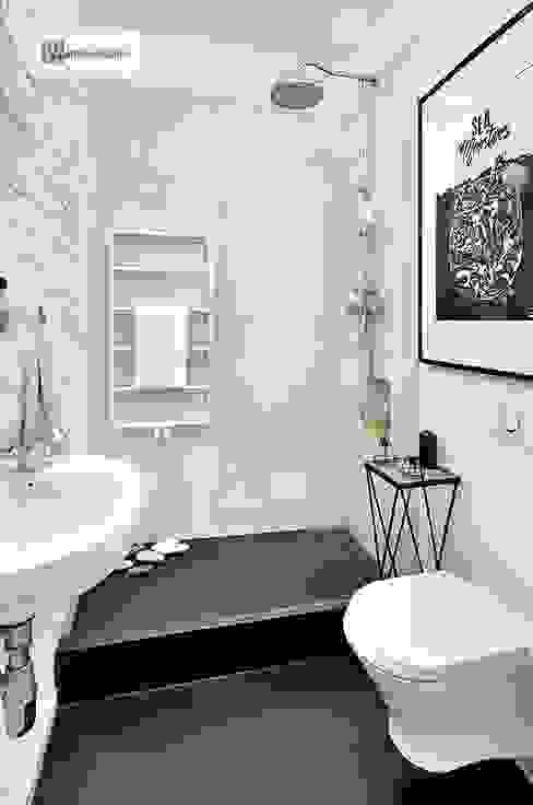 스칸디나비아 욕실 by dziurdziaprojekt 북유럽