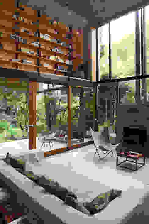 Projekty,  Salon zaprojektowane przez Arquitecto Alejandro Sticotti, Wiejski