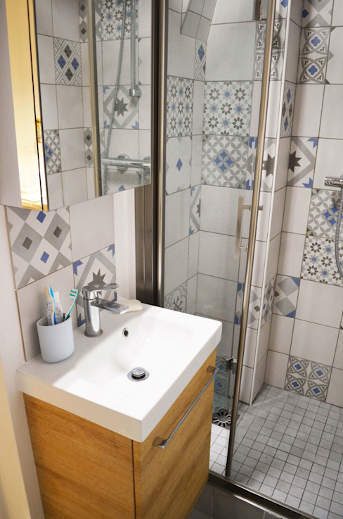 Skandinavische Badezimmer von Sandrine Carré Skandinavisch