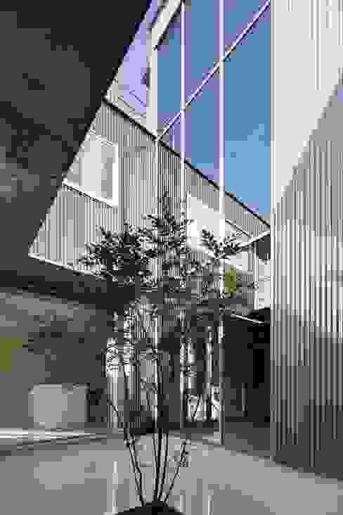奈半利のコートハウス 有限会社 橋本設計室 モダンな庭