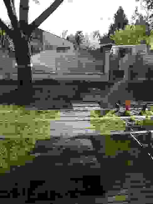 Pas japonais sur gazon Jardin minimaliste par Constans Paysage Minimaliste