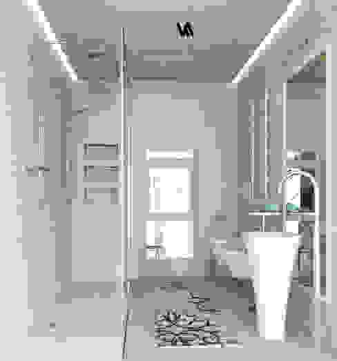 Progetto appartamento su due piani a Napoli Bagno moderno di RINNOVIAMO CASA Moderno