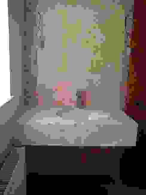 Консольная раковина Ванная комната в эклектичном стиле от homify Эклектичный