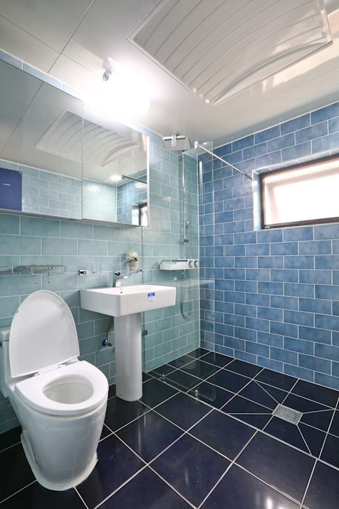 Badezimmer von 한글주택(주), Modern