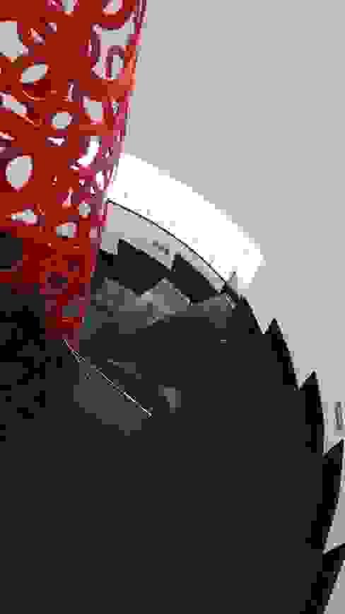 Pasillos, vestíbulos y escaleras de estilo moderno de SAYTAS SABUNCUOGLU YAPI VE TIC.LTD.STI. Moderno