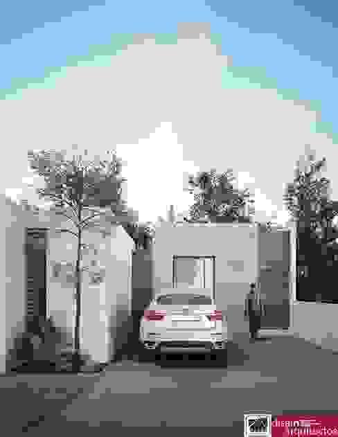 Modelo 1N DUCAT Casas modernas de homify Moderno Ladrillos