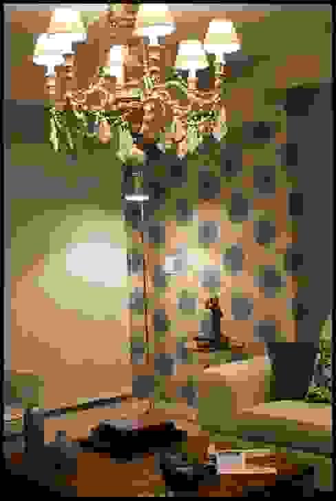 Eklektik Oturma Odası Diseñadora Lucia Casanova Eklektik