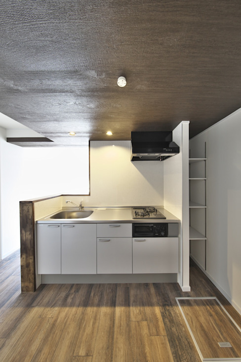 Kitchen by FRCHIS,WORKS, Eclectic Aluminium/Zinc