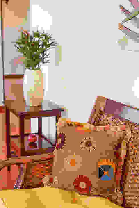 غرفة المعيشة تنفيذ PORTO Arquitectura + Diseño de Interiores,