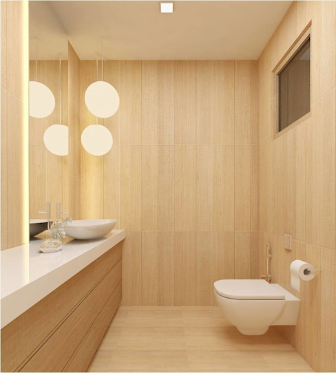 MANTRI ESPANA, BANGALORE. (www.depanache.in) De Panache - Interior Architects Classic style bathroom