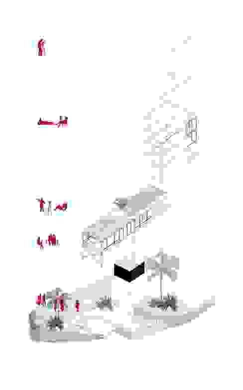 現代  by NIKOLAS BRICEÑO arquitecto, 現代風
