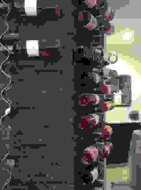 Bar à vin en cours Bars & clubs modernes par mpdeco Moderne Ardoise