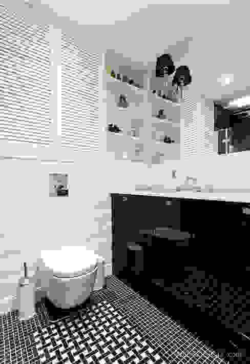 Łazienka Eklektyczna łazienka od homify Eklektyczny