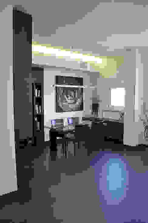 Appartamento Milano Naviglio Soggiorno moderno di DCA Studio - Davide Carelli Architetto Moderno
