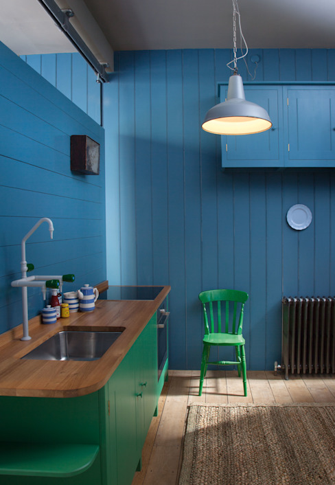 N1 Kitchen by British Standard British Standard by Plain English Klassieke keukens Hout Bont
