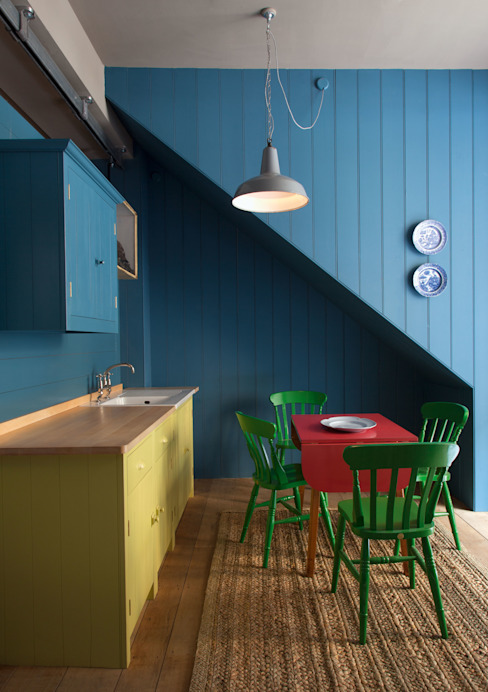 N1 Kitchen by British Standard British Standard by Plain English ห้องครัว ไม้ Multicolored
